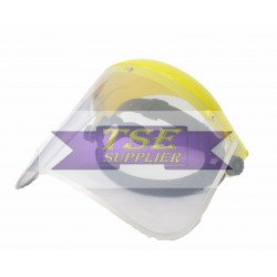 Metal Clear Visor with Visor Holder
