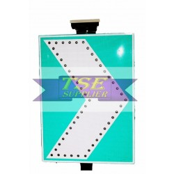 Solar Arrow Warning Light