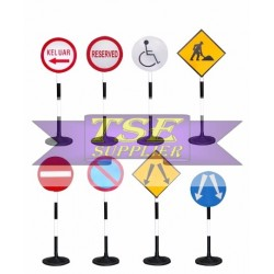 Rubber Base Traffic Sign
