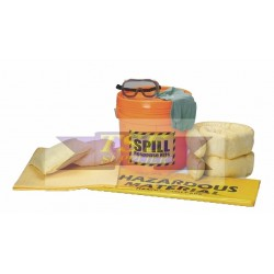 18 Liter Portable Spill Kit - Chemical Only