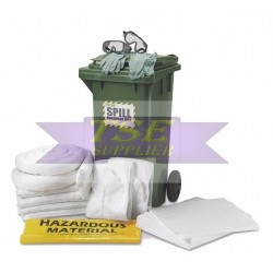 120 Liter Dispenser Cart Spill Kit - Oil Only